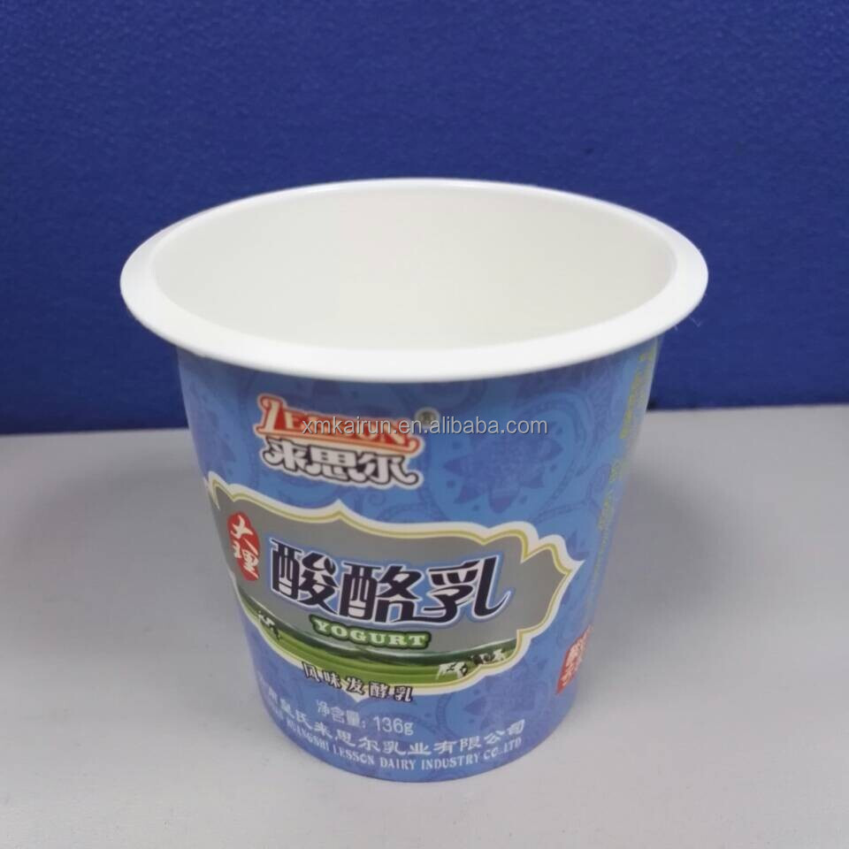170ml yogurt cups wholesale/yogurt packaging cups/yogurt plastic cups High Quality