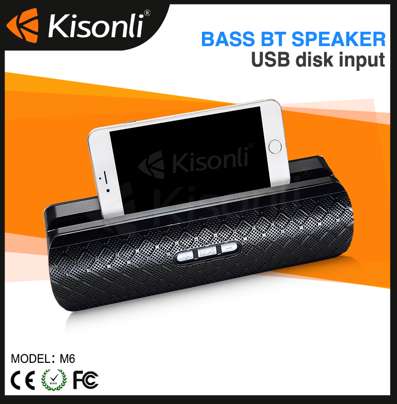 High-end Bluetooth Speaker 2017 Subwoofer Professional Portable Speaker for Home Office Music