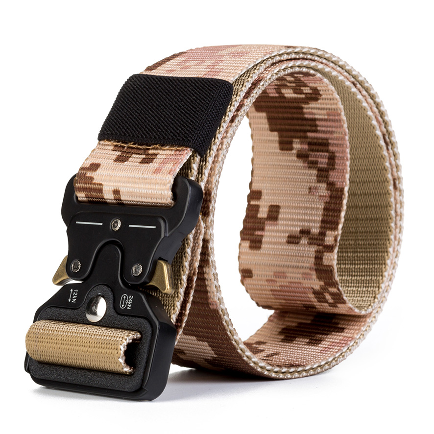 Wholesale New Mens Camo Military Supplies Tactical Fabric Military Nylon  Webbing Belt With Cobra Buckle - Buy Wholesale Military Supplies,Camo