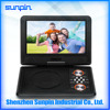 9 inch Home Portable DVD Player Compatible with CD, DVD, MP3, video