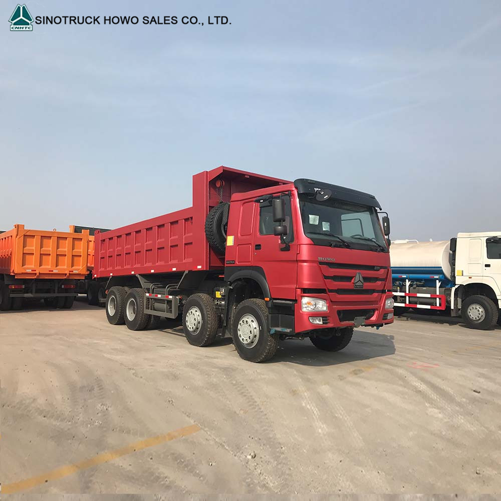 Howo Dump Truck Tipper Truck 8x4 With Low Price Cote D