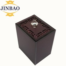 JINBAO 2017 Acrylic Plastic Food Container Storage Practical Tea Box Coffee Sugar Storage Candy Container