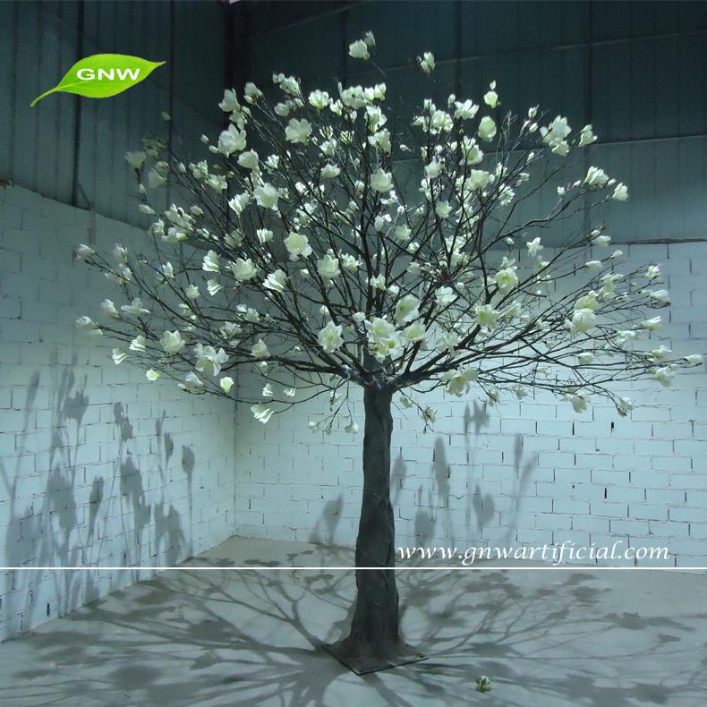 Gnw Artificial árbol Del Deseo Con Magnolia Flor Artes Y Artesanía Fibra árboles  Secos Para Decoración