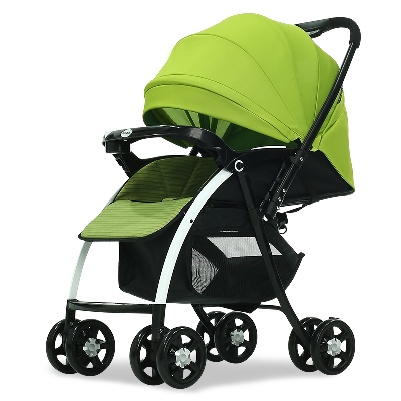 one hand folding unique stroller for baby new design travel baby trolley