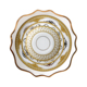 JC promotional brilliant dinnerware set ceramic dishes set 4 pcs casual dinnerware for wedding plates