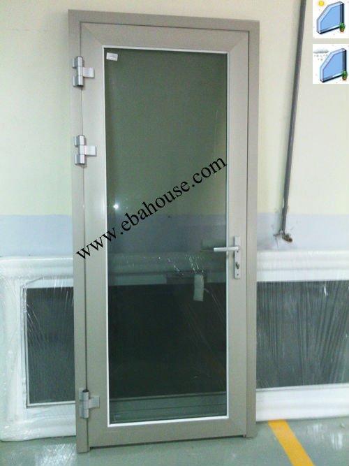 Ahorro De Energía De Aluminio De Cristal Abatible Puerta Exterior ...