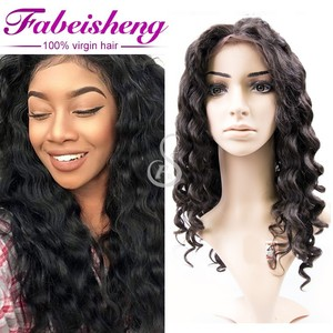 china hair factory human hair wigs full lace wigs, brazilian half lace wigs bulk buy from china