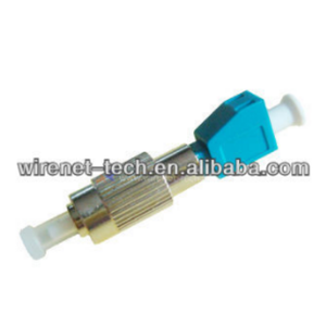 FC Male To LC Female Fiber Optic Hybrid Adapter