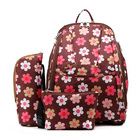 China export factory direct mother baby bags care backpack 3pcs/set