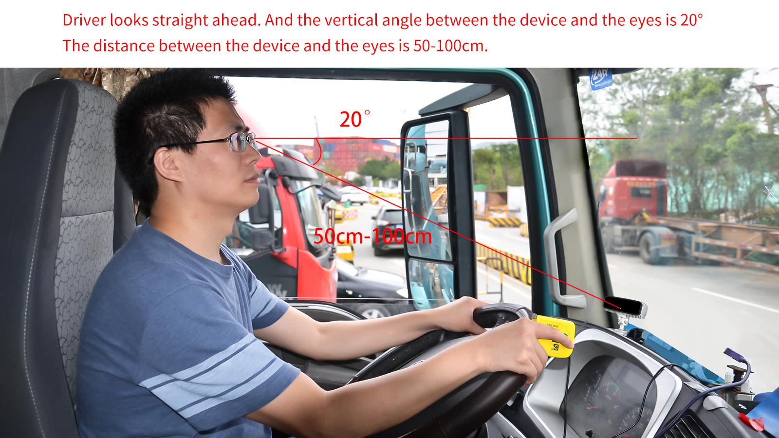 Cina per Evitare Le Collisioni Car Audio E video drive CALL anti sonno di avvertimento AI monitor di allarme sistema di TELECAMERE di sicurezza