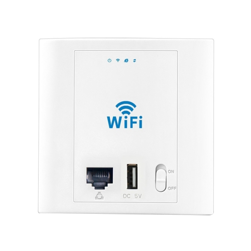 In Stock PW300U48 300Mbps Wireless Inwall Access Point, Ethernet port & USB Port (48V Version)
