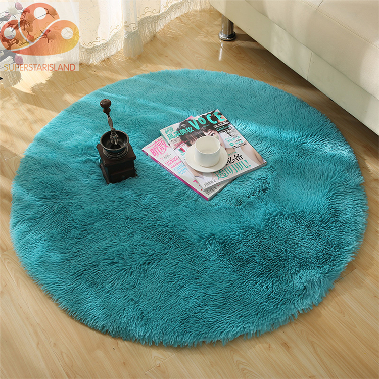 Chinese 100% polyester non-slip floor carpet mat wholesale for living room