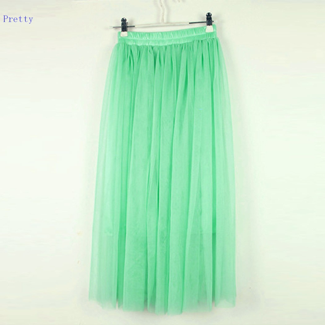 Best Selling Women Princess Skirts Fairy Style Voile Tulle Skirt Bouffant Puffy 2014 New Fashion Lace Long Skirts 29