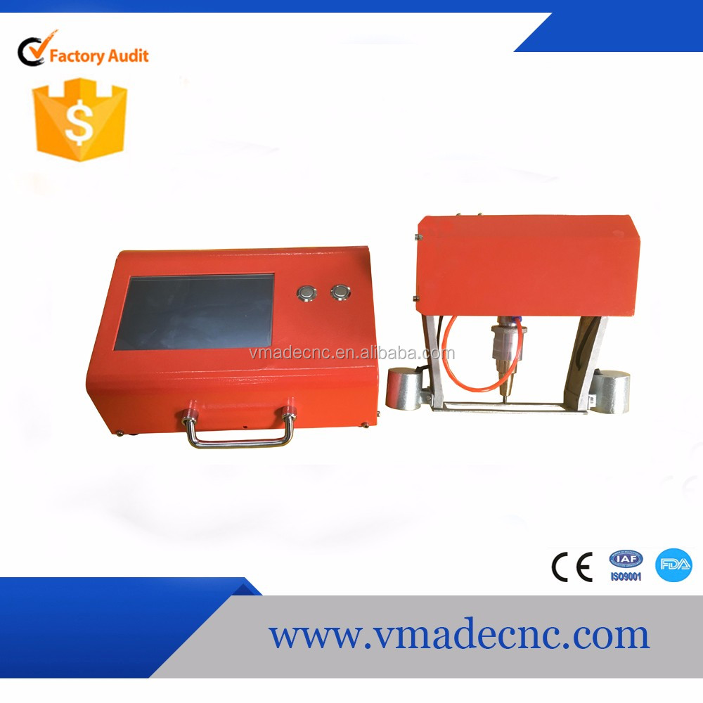 2017 February best gifts car parts dot peen marking machine in alibaba marketing