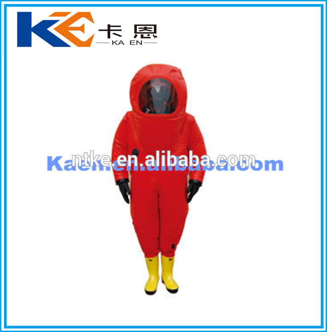 New product 2017 omniseal chemical rubber protective suit with A Discount