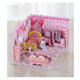 New design diy house toy hot sale item kids wooden doll house