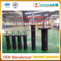 Double acting Piston hydraulic cylinder price for press machine, industrial usage