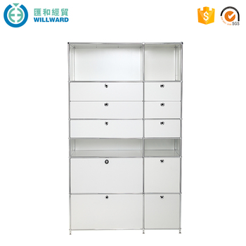 Home Furniture Multi Drawer Metal Storage Cabinet Used Office