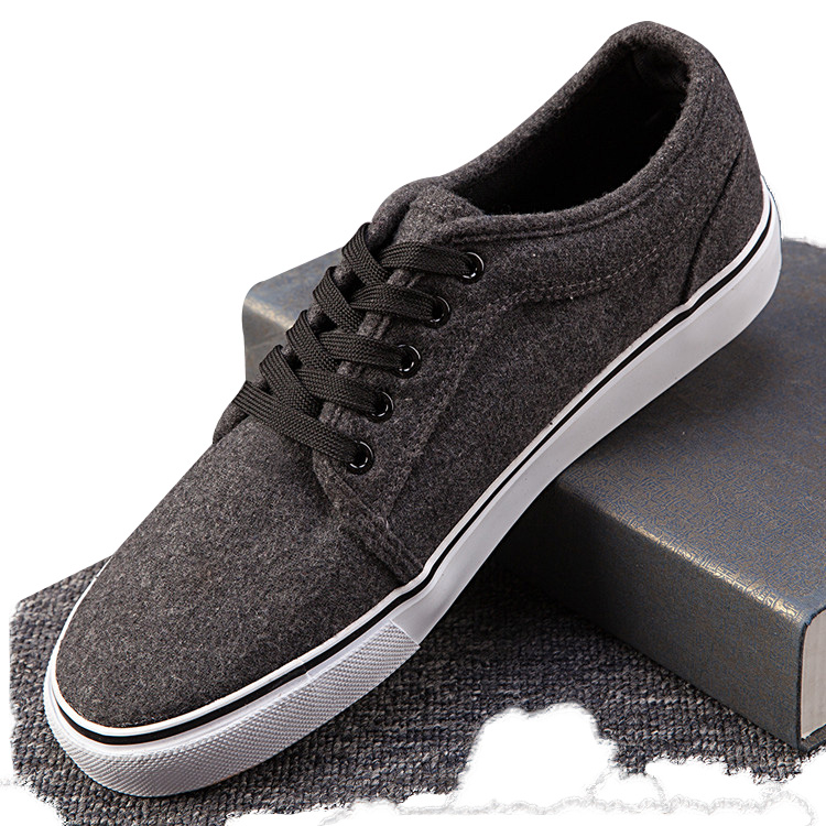 Vulcanized Rubber Sole Low Cut Casual Suede <strong>Shoes</strong> for Men