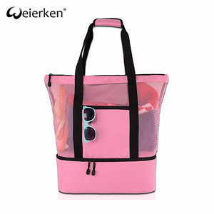 New Design Foldable Durable Beach Mat Bag