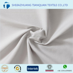white color cotton brushed fabric pabrik kain flanel for cleaning rags