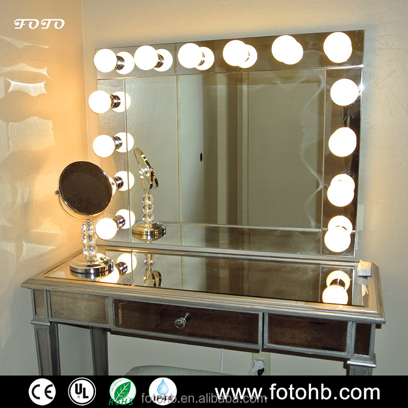 Hollywood Style Vanity Mirror With Bulbs, Hollywood Style Vanity Mirror  With Bulbs Suppliers And Manufacturers At Alibaba