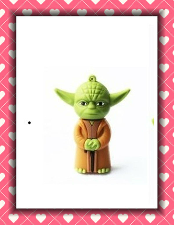 New arrival star war Yoda warrior model pen drives different shapes