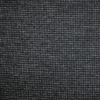 Small Houndstooth Design Dyed Yard Wool/Rayon Worsted Wool Fabrics