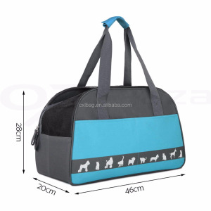 Puppy Cat Dog Pet Bag Carrier Folding Carry Handbag for Outside Travel