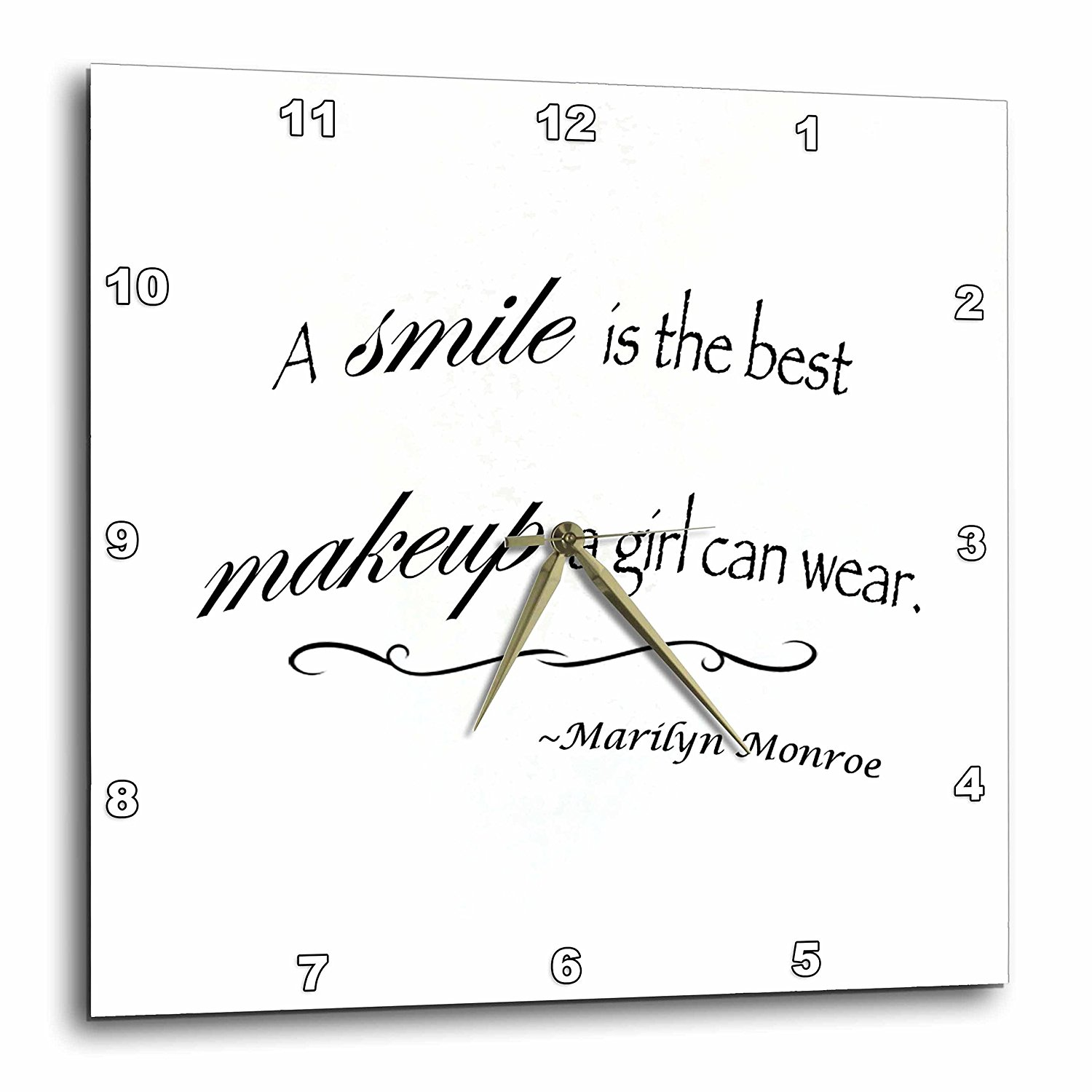 Buy A Smile Is The Best Makeup Any Girl Can Wear Marilyn Monroe