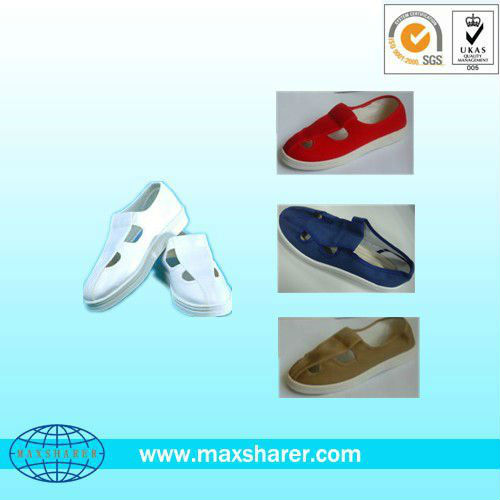cleanroom esd shoe, esd butterfly shoes