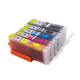 wholesale PG550 PG 550 Edible Ink Cartridge compatible for MG5550 MG6650 IX6850 MX725 MX925