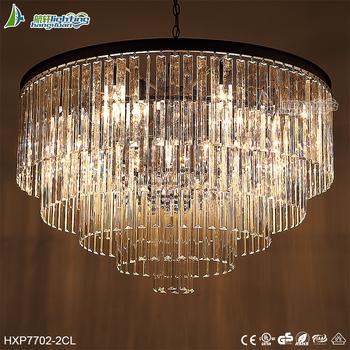 American round art crystal deco chandelier with crystal drops american round art crystal deco chandelier with crystal drops hxp7702 2cl aloadofball Gallery