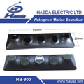 Hot marine soundbar for sauna room boat RV ATV UTV with four speakers big power