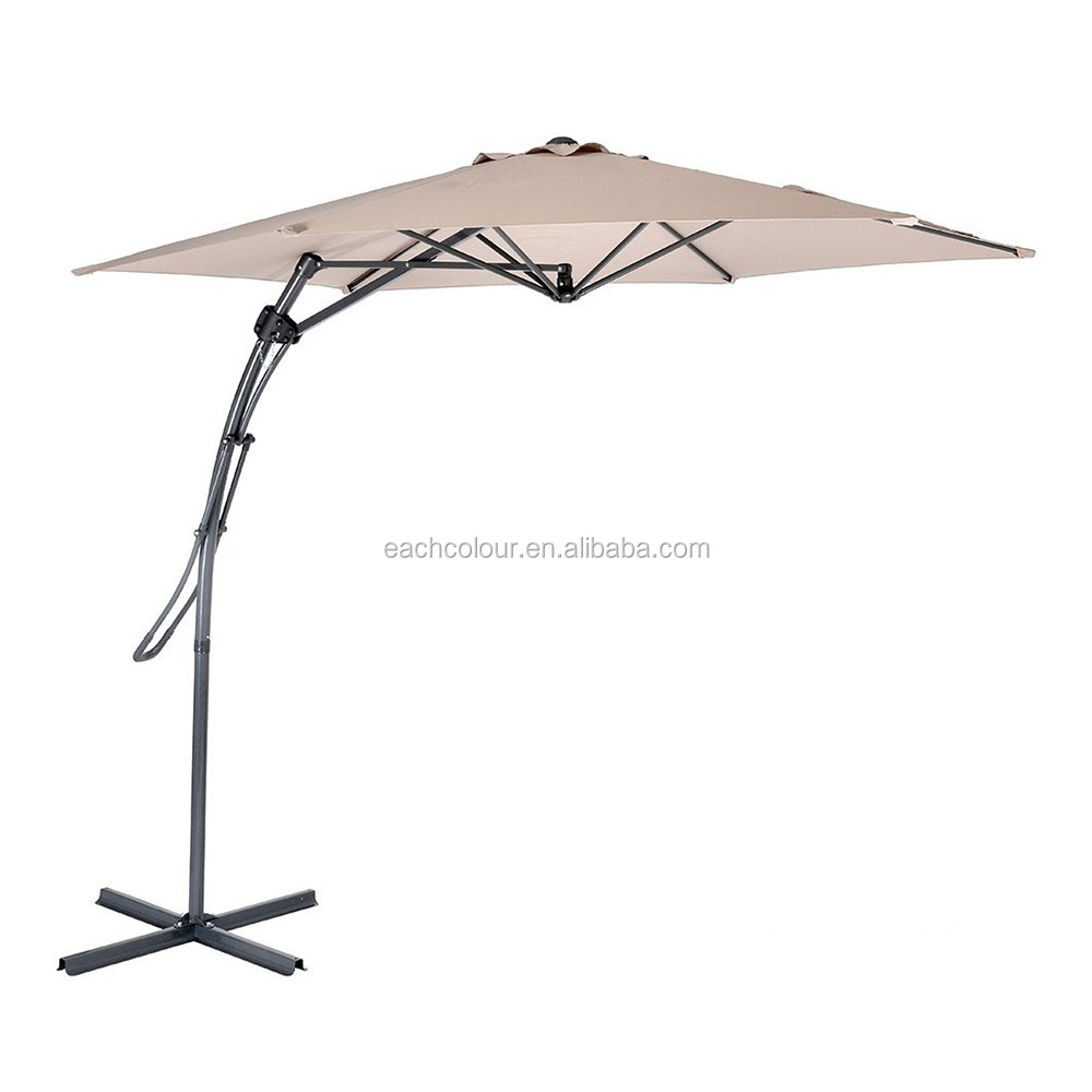 2017 hot selling new fashion beach sun umbrella with UV protection