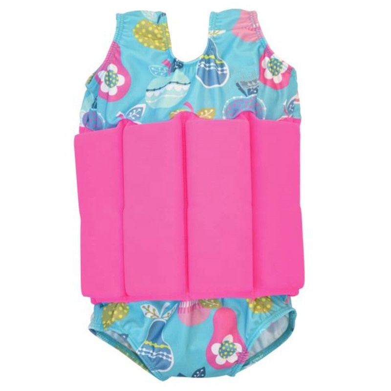 2019 Floatation swimwear for Infants and Toddlers Baby Girls Swimming Aid Float suit