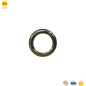 Factory Price Strong Round Spring Clip Snap Hook
