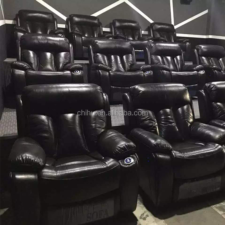 Foshan theater furniture factory supply luxury vip home theater seats