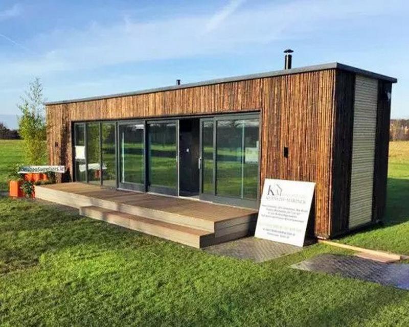 модульный дом оформили как недвижимость