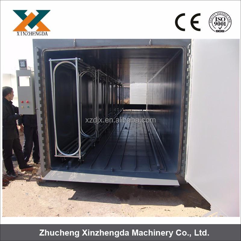 industrial Cubic mushroom steam autoclave for sterilization