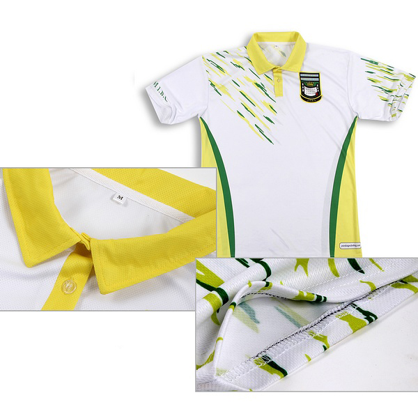 Custom Made Sublimated Club Polo Shirt