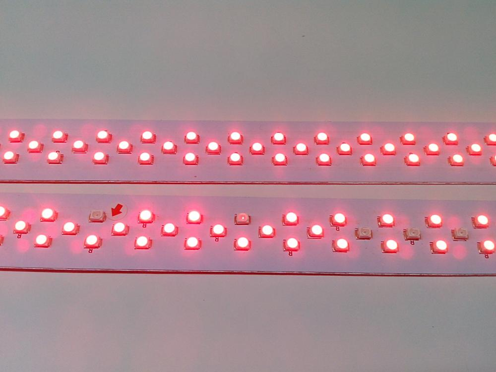 4ft led pink light 18 watt led tube for meat markets lighting-S