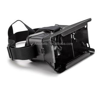 5d1bf1846eeb Plastic Google Cardboard VR Headset for 4.7-6 inch Mobile Cinema Virtual  Reality 3D Mobilephone