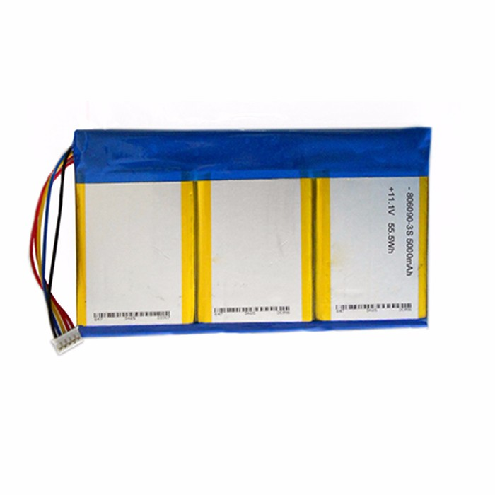 5Ah 12V lithium ion polymer battery lipo battery pack for medical equipment