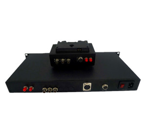studio camera fiber system (JM-EFP-S4) with3g-sdi&tally&genlock&remote&intercom over fiber for Remote OB VAN system