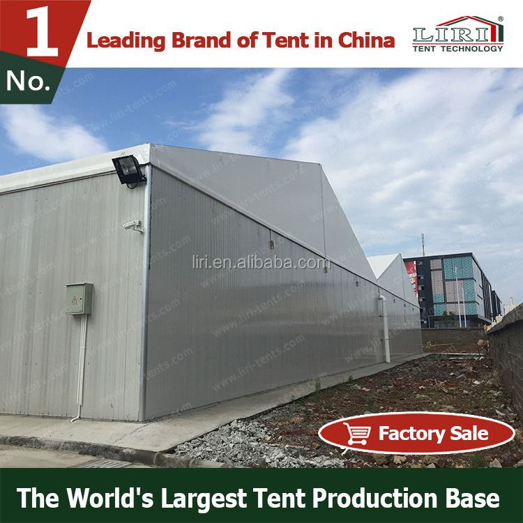 Clear Span Car Warehouse Tent with Wind and Fire-resistant Materials