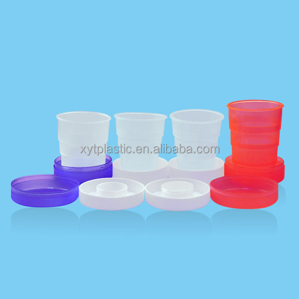 collapsible foldable cups plastic PP cups