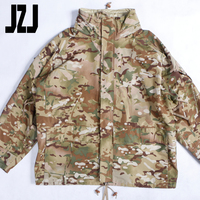 US army Men's T/C rip stop 3 colours desert camouflage jacket