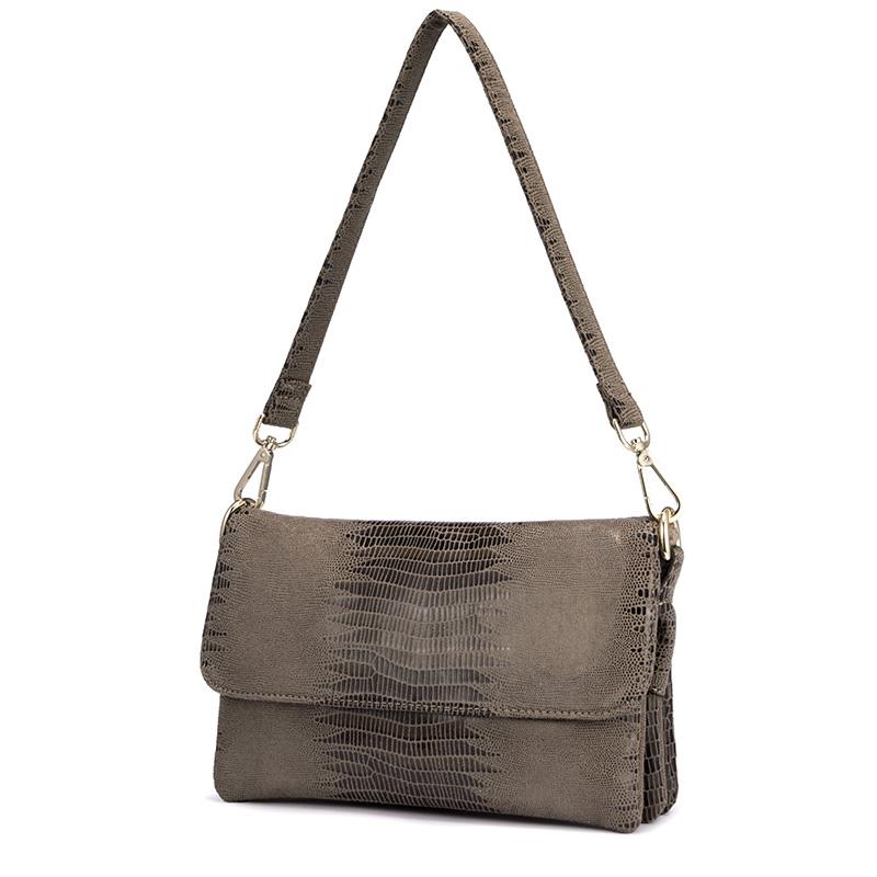 Женская сумка через плечо REALER, дизайнерская сумка через плечо с принтом животных, вечерняя сумочка, 2020(Китай)