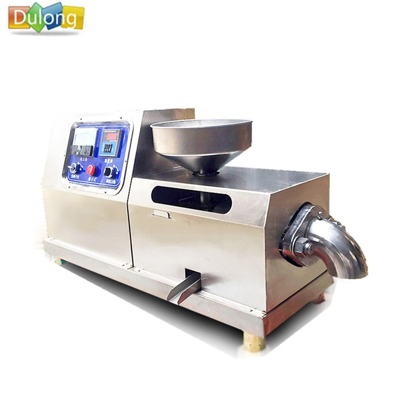 Stainless steel durable canola oil press machine oil mill